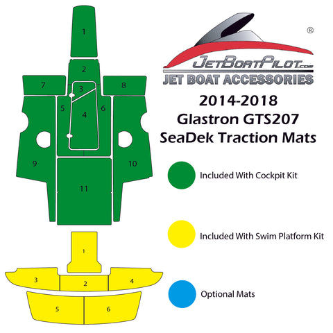 SeaDek for Glastron 207 (2014-2018)