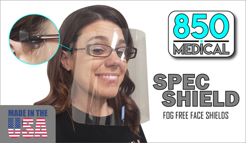 SPEC Shield- No Fog Shield For Glasses Wearers PS91
