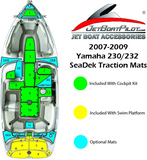 Yamaha 230/232 SeaDek Bow Boarding Steps (07-09 MY)