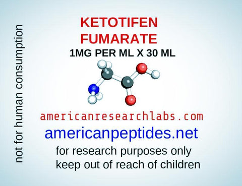 KETOTIFEN FUMARATE 1MG PER ML X 30 ML