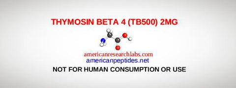 THYMOSIN BETA 4 (TB500) 2MG