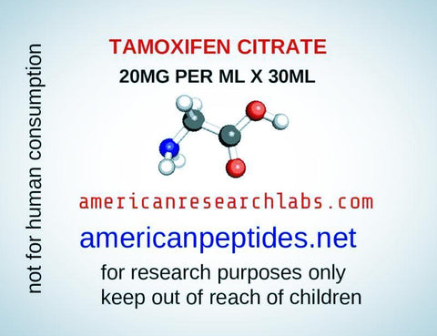 TAMOXIFEN CITRATE 20MG PER ML X 30ML