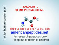 TADALAFIL 30 MG PER ML X 30 ML