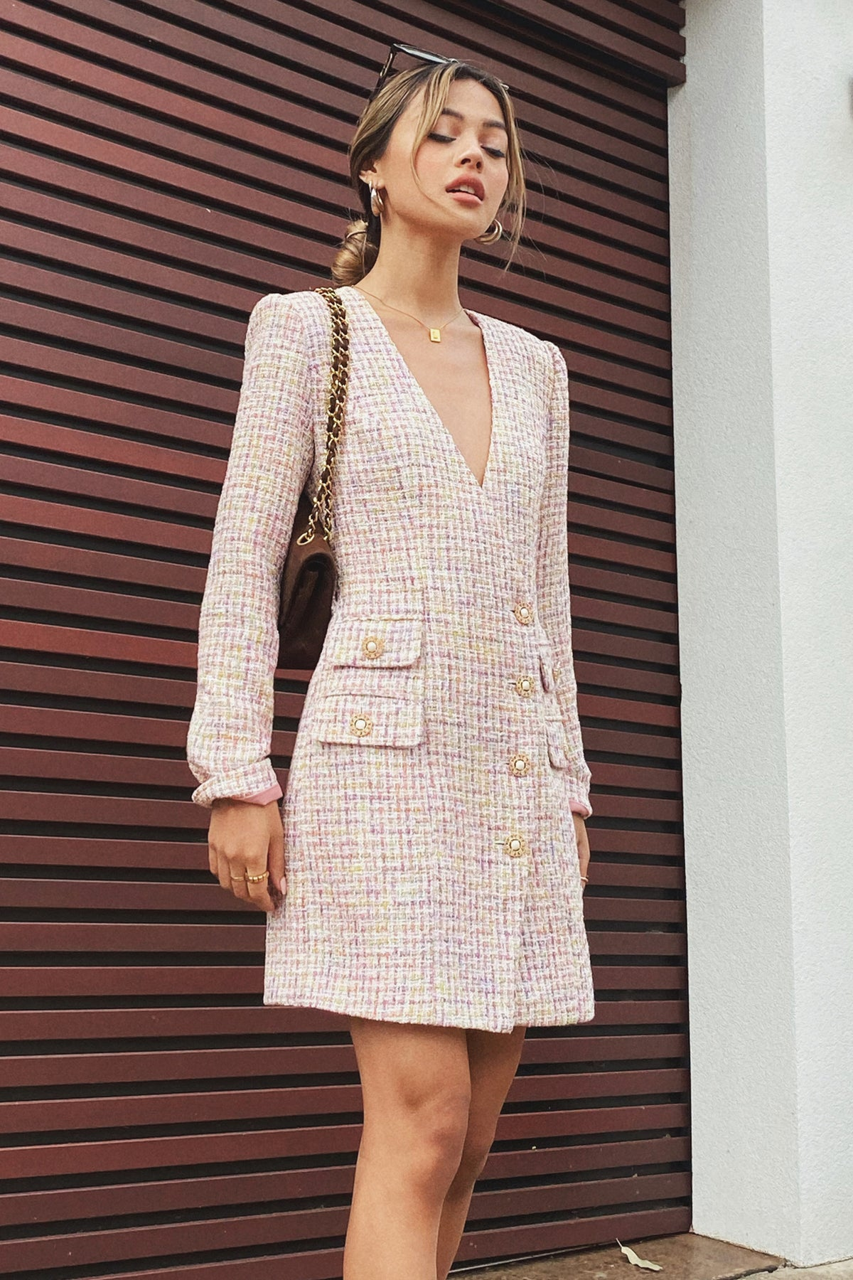 POSITANO BLAZER DRESS