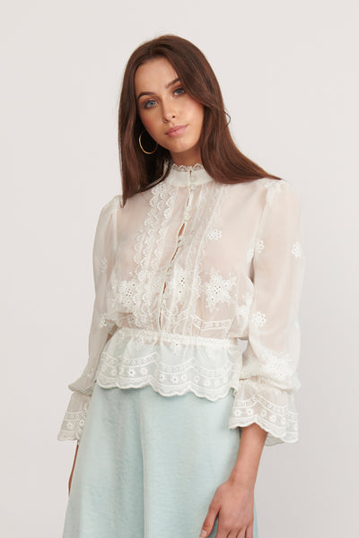 FASCINATE BLOUSE