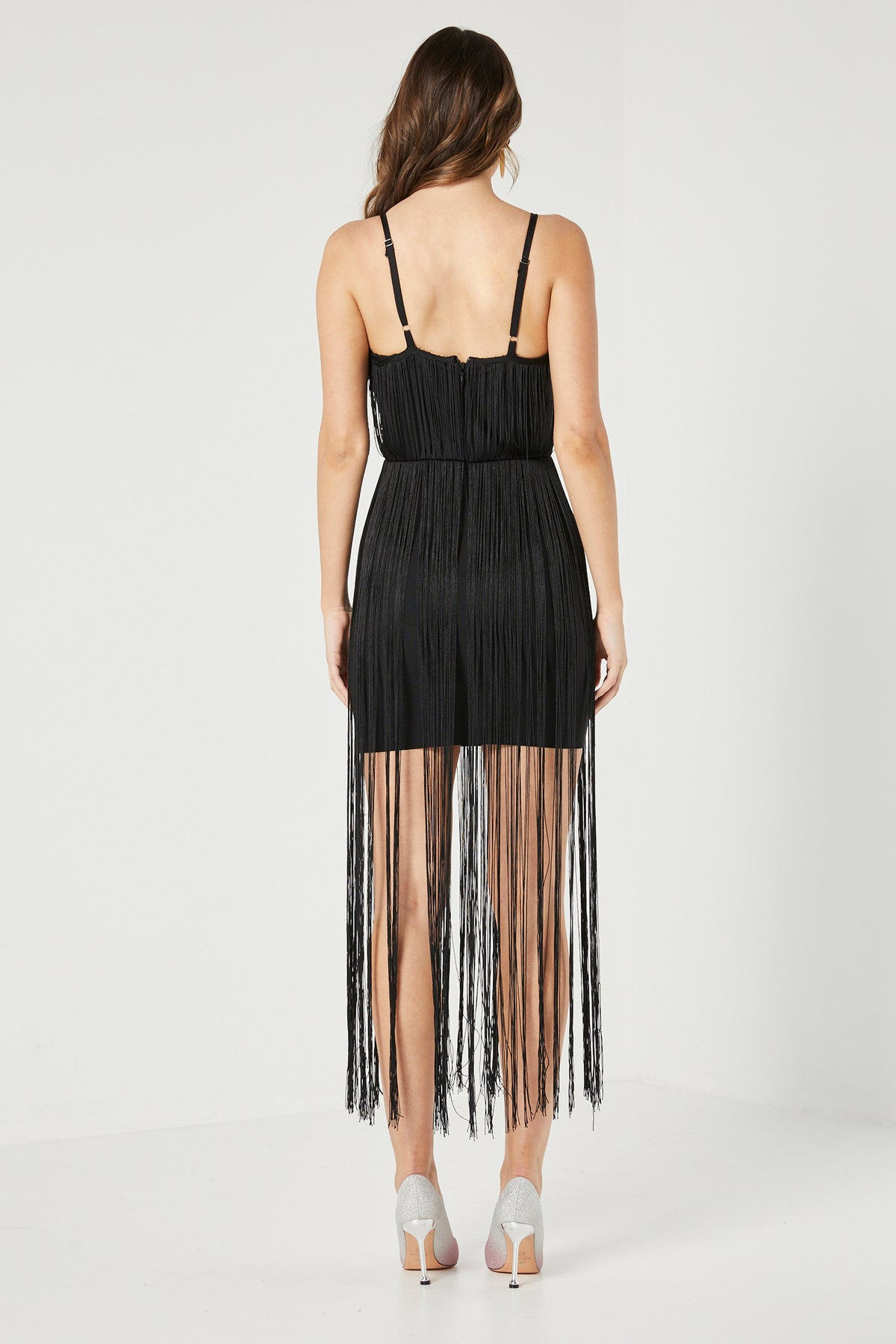 MARIANA FRINGE DRESS