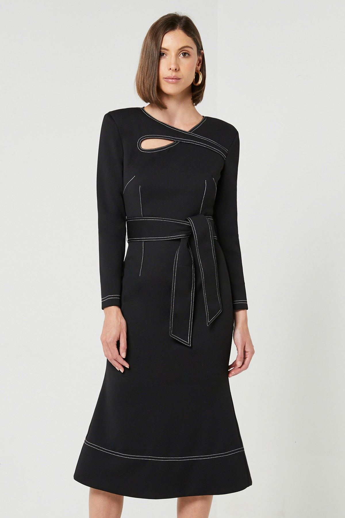 CHIARA LONG SLEEVE DRESS