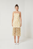WATTLE DRESS WITH DETACHABLE SKIRT