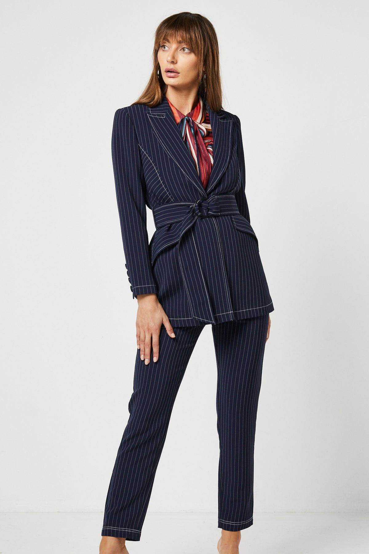 LADY BLAZER & PANT SET