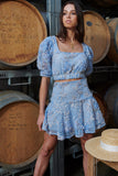 CHATEAU TOP & SKIRT SET