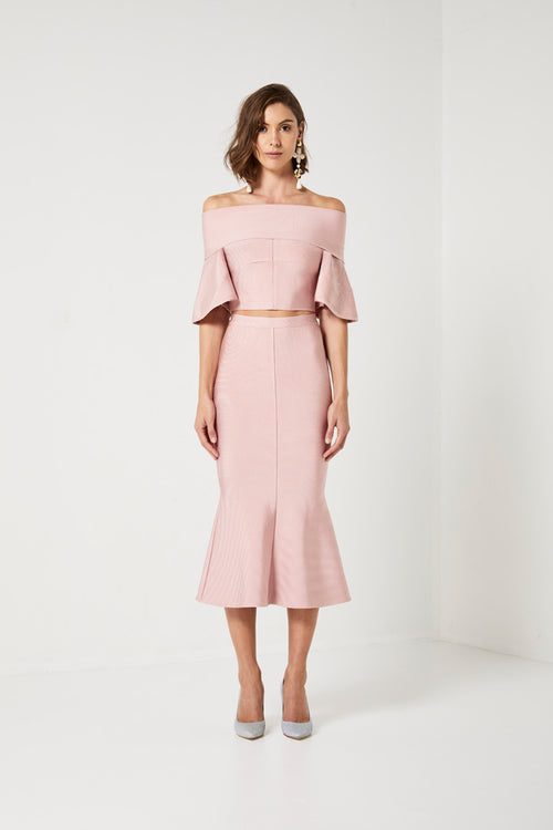 AUDREY TOP AND SKIRT
