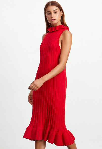 POMODORO KNIT DRESS