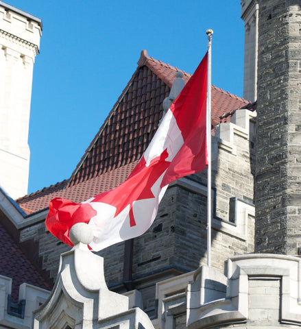 Canadian Flag at Casa Loma