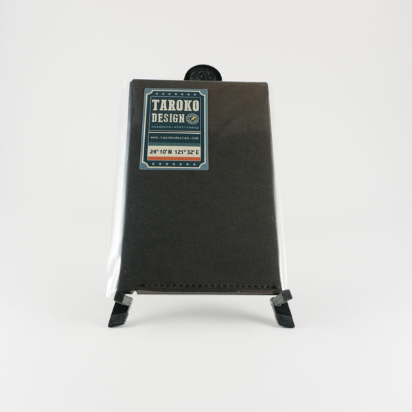 Taroko Design - Kraft Folder - Pocket - Black
