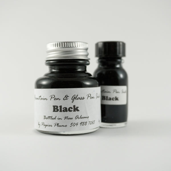Papier Plume - Fountain Pen Ink - Black