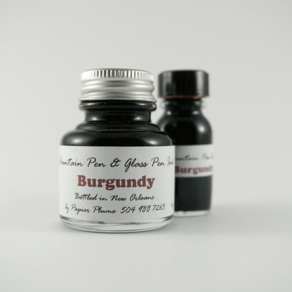 Papier Plume - Fountain Pen Ink - Burgundy