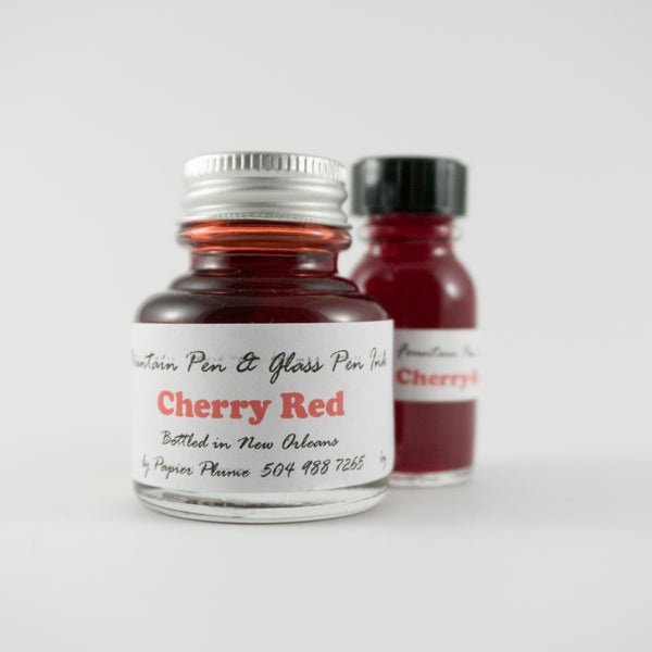 Papier Plume - Fountain Pen Ink - Cherry Red