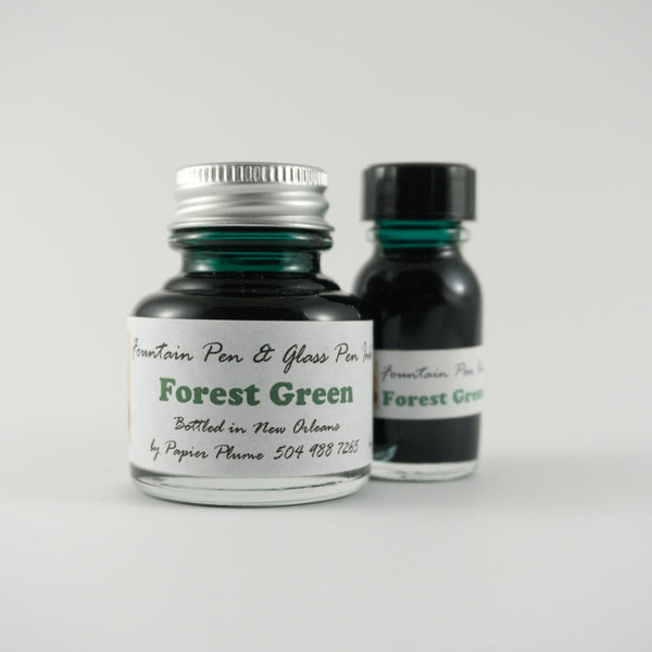 Papier Plume - Fountain Pen Ink - Forest Green