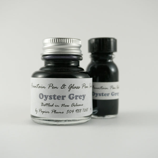 Papier Plume - Fountain Pen Ink - Oyster Grey