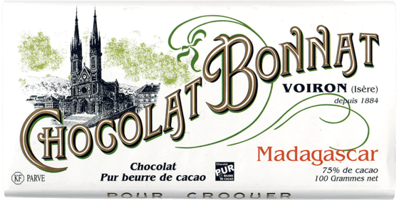 Madagascar Chocolate by Bonnat - 75% Cocoa - Snackhub Australia