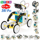 KIDWILL 13-in-1 Educational Solar Robot Kit for Kids, STEM Science Toy Solar Power Building Kit Puzzle DIY Assembly Battery Operated Robotic Set, for Kids Teens and Science Lovers - ShopGlobal24x7