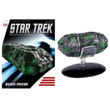 StarTrek Starships Borg Probe Vehicle with Collector Magazine #130