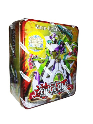 Yugioh Wind-up Zenmaister Tin