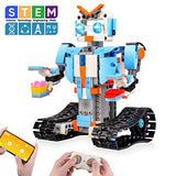 Sillbird STEM Building Blocks Robot for Kids- Remote Control Engineering Science Educational Building Toys Kits for 8,9-14 Year Old Boys and Girls