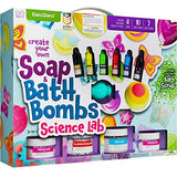 Soap & Bath Bomb Making Kit for Kids - 3-in-1 Spa Science Kits For Kids : Complete Soap Making Kit & Make Your Own Bath Bombs, Soap & Bath Scrubs : Kids Science Kit For Kids - Gift for Girls and Boys - ShopGlobal24x7