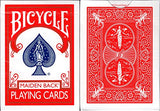 Marked Maiden Back Bicycle Trick Playing Cards Poker Size Deck USPCC (Blue)