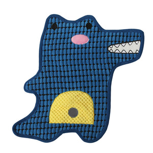 LaiFug Dog Play Mat,Durable Dog Sleeping Pad with Sound-producing Paper