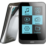 "Coby 4GB 2"" Touchscreen Video MP3 Player"