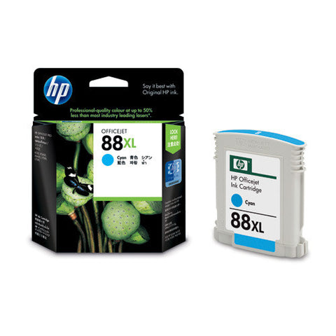 HP 88 Large Cyan Ink Print Cartridge - 17.1ml