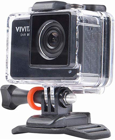 Vivitar 4K Action Camera with Remote - Black