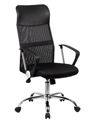 Sit M332 Manager Chair - Mesh Fabric with Plastic/chrome Armrest