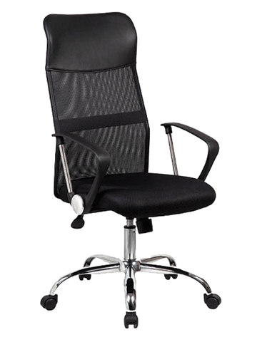 MYO M332 Manager Chair - MESH Fabric with Plastic/chrome Armrest