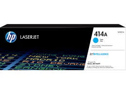 HP 414A Cyan LaserJet Toner Cartridge (W2021A)