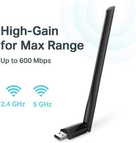 TP-Link AC600 High Gain Wireless Dual Band USB Adapter