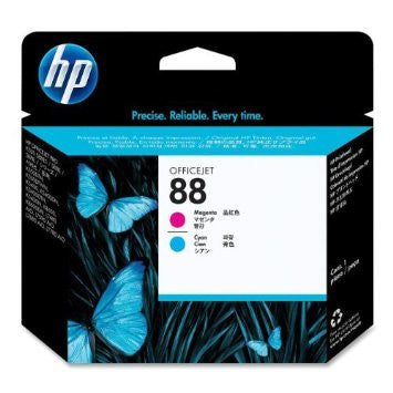 HP 88 Magenta and Cyan Printhead