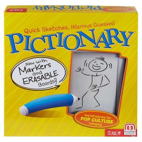 Pictionary Quick-Draw Guessing Game w/ Adult and Junior Clues