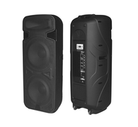 MYO Two Way Active Black Loudspeaker BT/SD Card/MP3/FM Radio