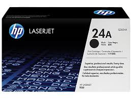 HP 24A Black Original LaserJet Toner Cartridge (Q2624A)