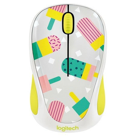 Logitech M317 Wireless Mouse - Assorted Colours