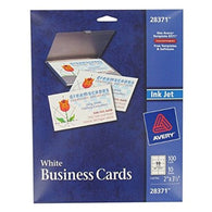 Avery 28371 Perforated Inkjet Business Card 10 Sheets
