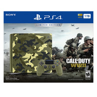 Sony PlayStation 4 Slim 1TB Console - Call of Duty WWII Limited Edition