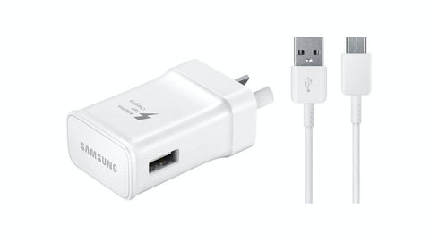 Samsung Travel Wall Adapter w/ Type C USB Cable - White