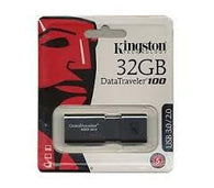 Kingston DataTraveler 100 G3 USB Flash Drive - 32GB