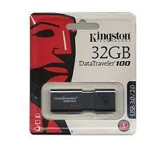 Kingston DataTraveler 100 32 GB USB Flash Drive