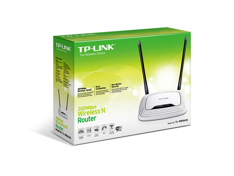 TP-Link TL-WR841N Wireless N Router, Atheros, 2T2R (SPANISH MODEL)