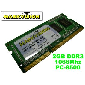 MarkVision 2GB PC3 8500 DDR3 1066 SO-DIMM Memory